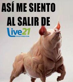 Ya es fin de semana #LIVE21 #GIMNASIO #FITNESS #TONALA #RetoLive21 #CROSSFIT #GymLife