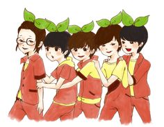 B1A4 sprouts :D