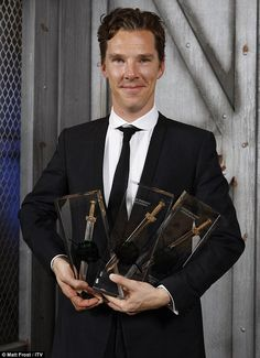 Ben was a big winner winning three awards at the Crime Thrillers awards.