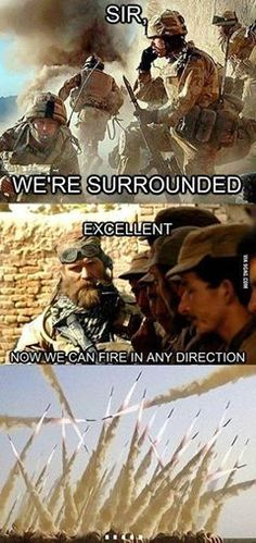 FunnyAnd offers the best funny pictures, memes, comics, quotes, jokes like - Military humor Military Jokes, Army Humor, Military Life, Military Girlfriend, Military Wedding, Military Gear, Military Style, Military Fashion, Really Funny Memes