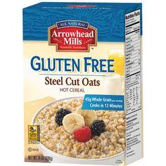 Gluten Free Steel Cut Oats Hot Cereal