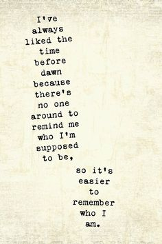 That is exactly why I prefer to spend a lot of time alone. It's liberating!!! <3