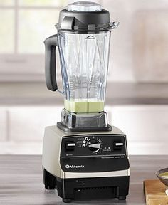 You need an ass-kicker in the kitchen and the Vitamix Professional Series 500 Blender is just the one for the job. Laser-cut stainless steel blades power through ice in seconds. It's perfect for smoothies, hot soups, frozen desserts - all that good stuff. With a 7-year warranty, you're in good hands.