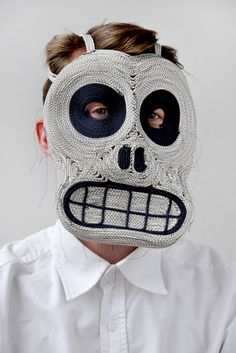 Neo Tribal Mask by Studio Bertjan Pot #mask #maschera #masque #маска #head #colorful #weird - Carefully selected by GORGONIA www.gorgonia.it