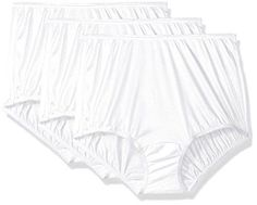 Vanity Fair Women's 3 Pack Perfectly Yours Ravissant Tailored Brief Panty 15112