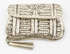 Anya Hindmarch Rossum Woven Leather Clutch. Pandora Price  £149 Pandora  Item Number  c7d07c217235f
