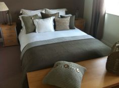A Double Bed, Mattress, 2x Bedside Tables And End Of Bed Storage Unit