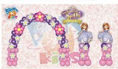 decoracion de fiesta princesa sofia - Buscar con Google