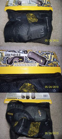 Protective Gear 62164: Lacrosse Arm Pad 8.0 Size Large By Warrior - Nib - Black With Yellow Paisley -> BUY IT NOW ONLY: $39.99 on eBay!