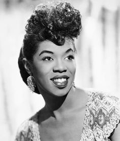 Sarah Vaughn one of the greatest jazz singers ever