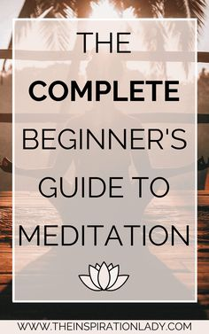 The complete beginner's guide to meditation. The benefits of meditation, beginner's meditation routines, and more! Meditation for beginners Meditation For Beginners, Meditation Techniques, Daily Meditation, Mindfulness Meditation, Meditation Music, Simple Meditation, Mindfulness Techniques, Healing Meditation, Meditation Benefits