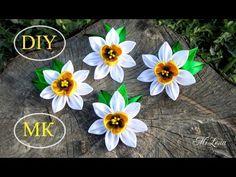 Роза из ленты, МК / DIY Satin rose / DIY Ribbon rose - YouTube