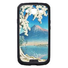 Mt. Fuji After Snow Hasui Kawase shin hanga scene Galaxy SIII Cases#smartphone #samsung #galaxy #galaxys3 #case #cover #skinit #oriental #japanese #japan #gift #customizable #smartphonecases