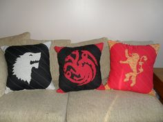 Game of Thrones House Sigil Pillows