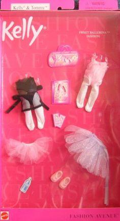 Barbie KELLY Sweet Ballerina Fashion Avenue Clothes (2001) Barbie http://www.amazon.com/dp/B001551ZOE/ref=cm_sw_r_pi_dp_NMvXtb0PFZ72J8X8
