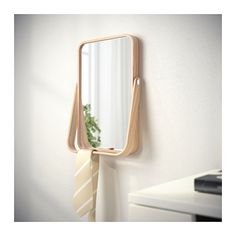 IKORNNES Table mirror IKEA The mirror can be placed on a table or chest of drawers, or hung on the wall.