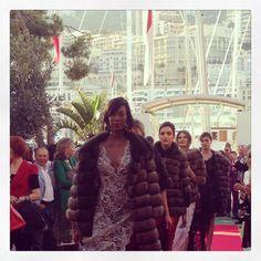 Fashion show Monaco. France designer. Like my work.