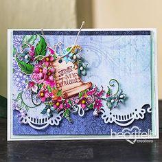 Charming Camaraderie - #HeartfeltCreations #papercraft #craft #card #cardmaking #friendship #thinkingofyou #anyoccasion