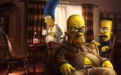 The Simpsons wallpaper Breaking Bad The Simpsons Marge Simpson Homer Simpson Bart Simpson Homer Simpson, Simpson Art, Homer And Marge, The Simpsons, Simpsons Quotes, Fan Art, Dope Art, Cartoon Wallpaper, Breaking Bad