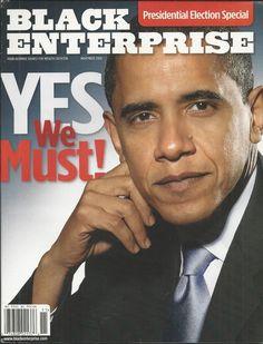 Black Enterprise magazine Barack Obama Presidential election special issue