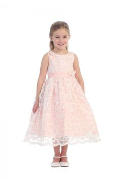 Update her festive look with this super cute dress from Tip Top Kids, perfect style for young girls. Gorgeous sequined lace flower girl dress in blush. Comes with detachable flowers. Girly laces and sparkle accents will make her feel so pretty. Zipper and Blush Flower Girl Dresses, Lace Flower Girls, Girls Party Dress, Girls Dresses, Dress Anak, Junior Bridesmaid Dresses, Bridesmaids, Wedding Dresses, Dresses For Less