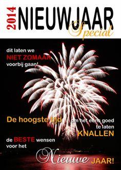 Nieuwjaarskaarten - Nieuwjaarskaart cover tijdschrift 2014