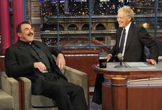 "Tom Selleck ""Late Show with David Letterman"" September 2010"