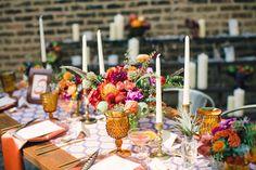 Colorful Bohemian Wedding Inspiration - A Splendid Occasion - Chicago, IL #bohemianwedding #colorfulbohemianwedding