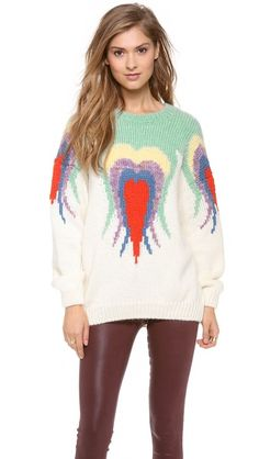 Nanushka Sami Intarsia Sweater