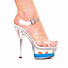 1000 images about prom on pinterest prom heels women 39 s for Shoes with fish in them