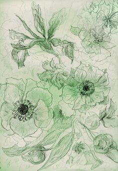 ''Flowers on Mother's Day ', Rosie Britton, Drawing Painting & Drawing, Drawings, Artist, Flowers, Artists, Sketches, Drawing, Royal Icing Flowers, Portrait