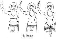 Hip Bulge Do's and Don't's