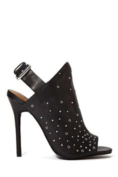 Shoe Cult Collection Nico Leather Heel | Shop Sale at Nasty Gal