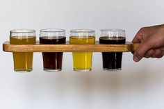 Beer flight paddles. Bring the Pub experience home!