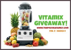 ENTER TO WIN A VITAMIX!