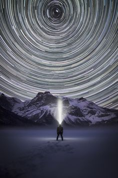 Lone Photographer Climbs Canadian Rockies At Night, Documents Hike In Stunning Photos ~ Emerald Lake, Yoho National Park