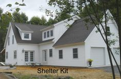 Traditional, Contemporary, Large or Small - let us help you design your dream home. shelterkit.com