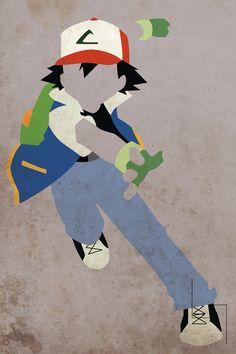 Ash Ketchum /// Minimalism