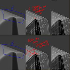 FAQ: Как у модели дем формы? Практические мини-Tuts для механической SUB-D АКА Добавить еще GEO - Страница 121 - Polycount форума