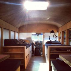 a cool school bus conversion into a fullyfunctional mobile home 1