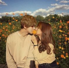 Blackpink Lisa, Kpop Couples, Cute Couples, K Pop, Autumn Instagram, Bts Girl, Blackpink And Bts, Bts Imagine, Korean Couple