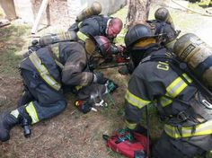 Columbia, South Carolina, firefighters saved kitty with oxygen and chest compression.