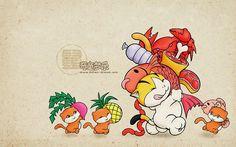 Kitten-Dream Cartoon Characters  - Rat - Chinese Zodiac Animal Sign Wallpaper 12