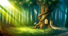enchanted forest fairies and dragons - Google Search