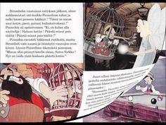 Pinocchio - Äänikirja , lue ja kuuntele! Fairy Tale Story Book, Fairy Tales, Brain Breaks, Reading, Books, Disney, Livros, Libros, Brain Games