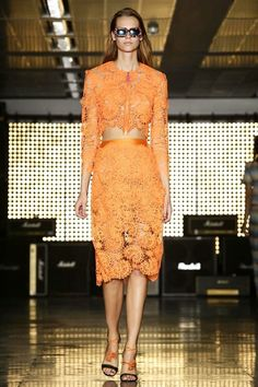 HOUSE OF HOLLAND - Spring Summer 2015 - London Fashon Week