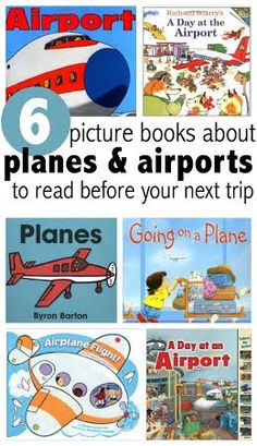Books and tips to help ease your child's anxiety about flying.