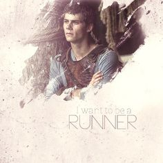 The Maze Runner movie. Dylan O'Brien as Thomas!!