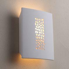 Pebble Plaster Wall Sconce Light Marden Design
