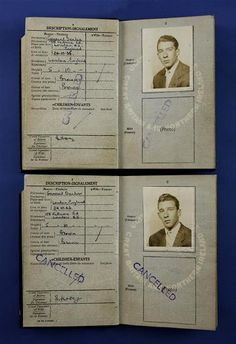 The twins' passports.